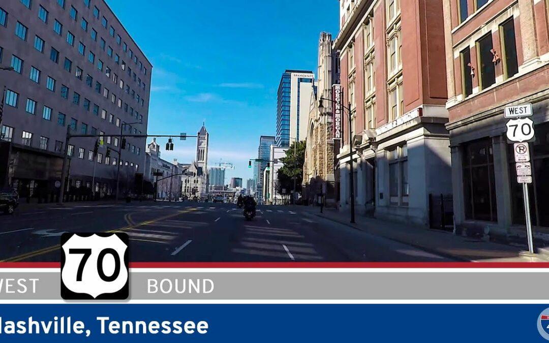 U.S. Highway 70 West in Nashville – Tennessee