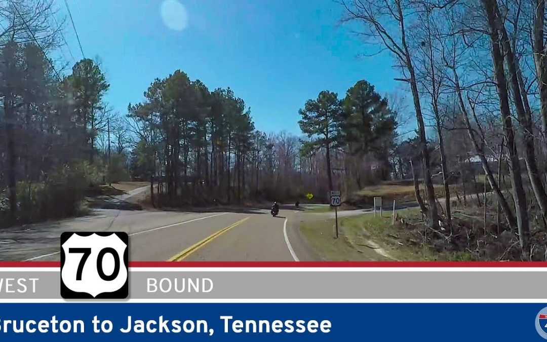 U.S. Highway 70: Bruceton to Jackson – Tennessee