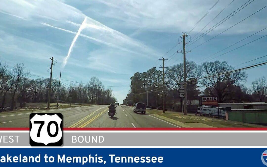 U.S. Highway 70: Lakeland to Memphis – Tennessee