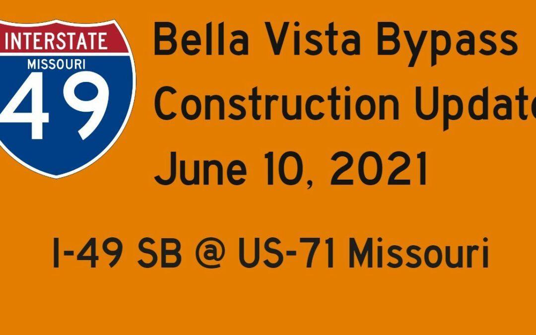 Missouri:  Interstate 49 South @ US-71 – Construction Update