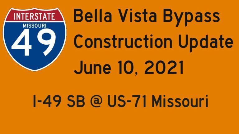 Missouri:  Interstate 49 South @ US-71 - Construction Update