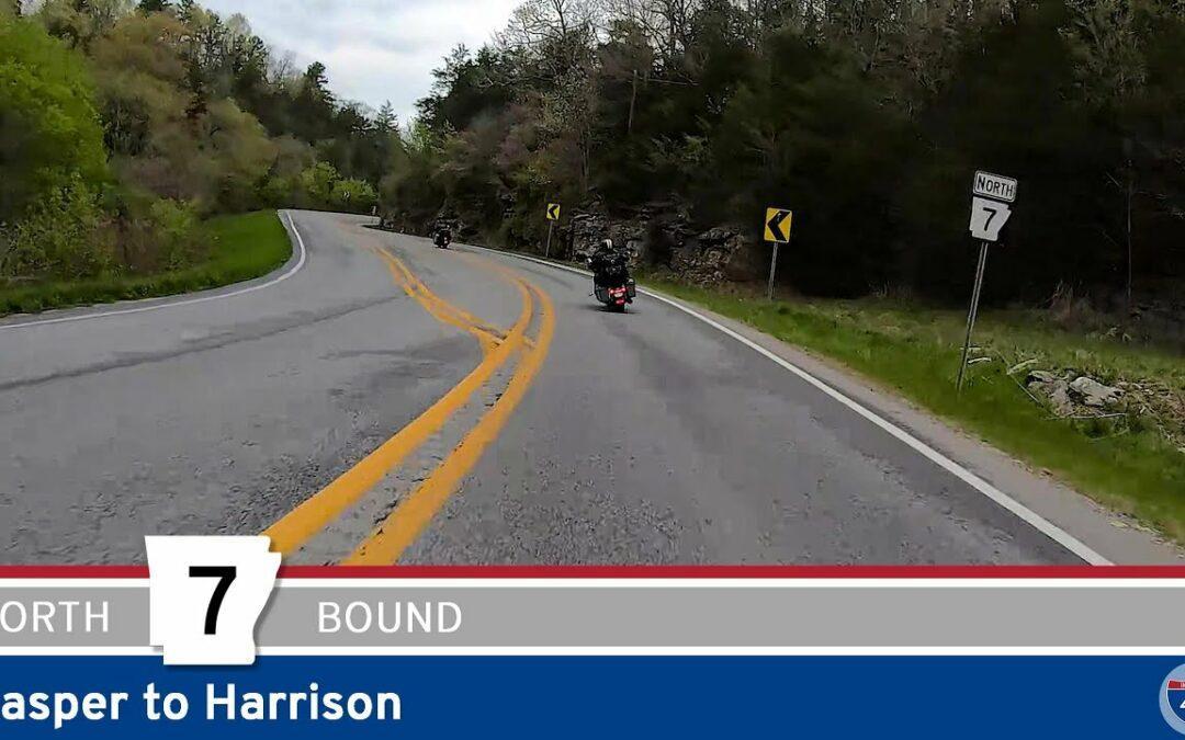 Scenic Arkansas Highway 7: Jasper to Harrison