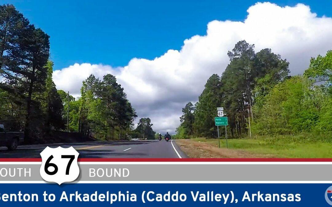 U.S. Highway 67: Benton to Arkadelphia (Caddo Valley) – Arkansas