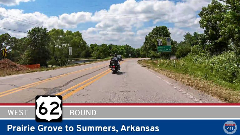 U.S. Highway 62: Prairie Grove to Summers - Arkansas