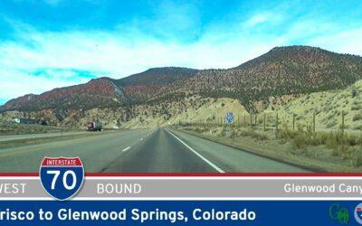 Interstate 70: Frisco to Glenwood Springs – Colorado