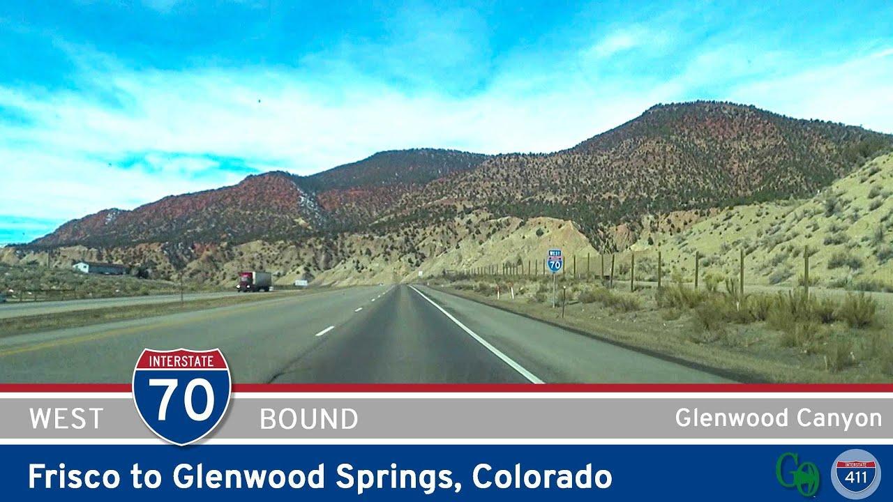 Interstate 70: Frisco to Glenwood Springs - Colorado