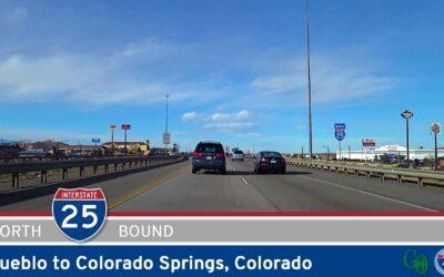 Interstate 25: Pueblo to Colorado Springs – Colorado