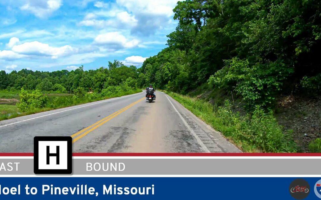 Missouri Supplemental Highway H: Noel to Pineville