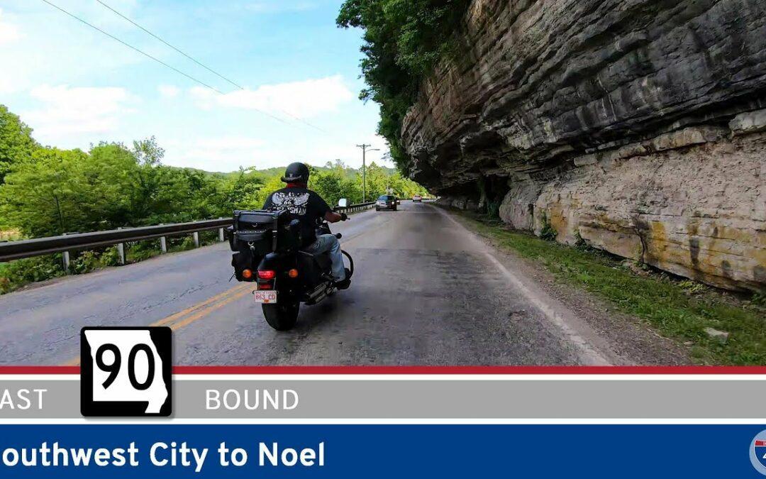 Missouri Highway 90 – Southwest City to Noel