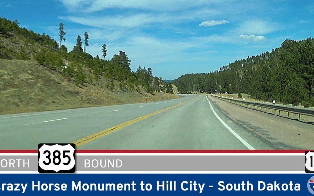 U.S. Highway 385: Crazy Horse to Hill City – South Dakota