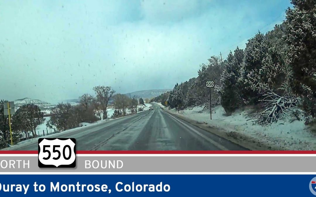 U.S. Highway 550: Ouray to Montrose – Colorado