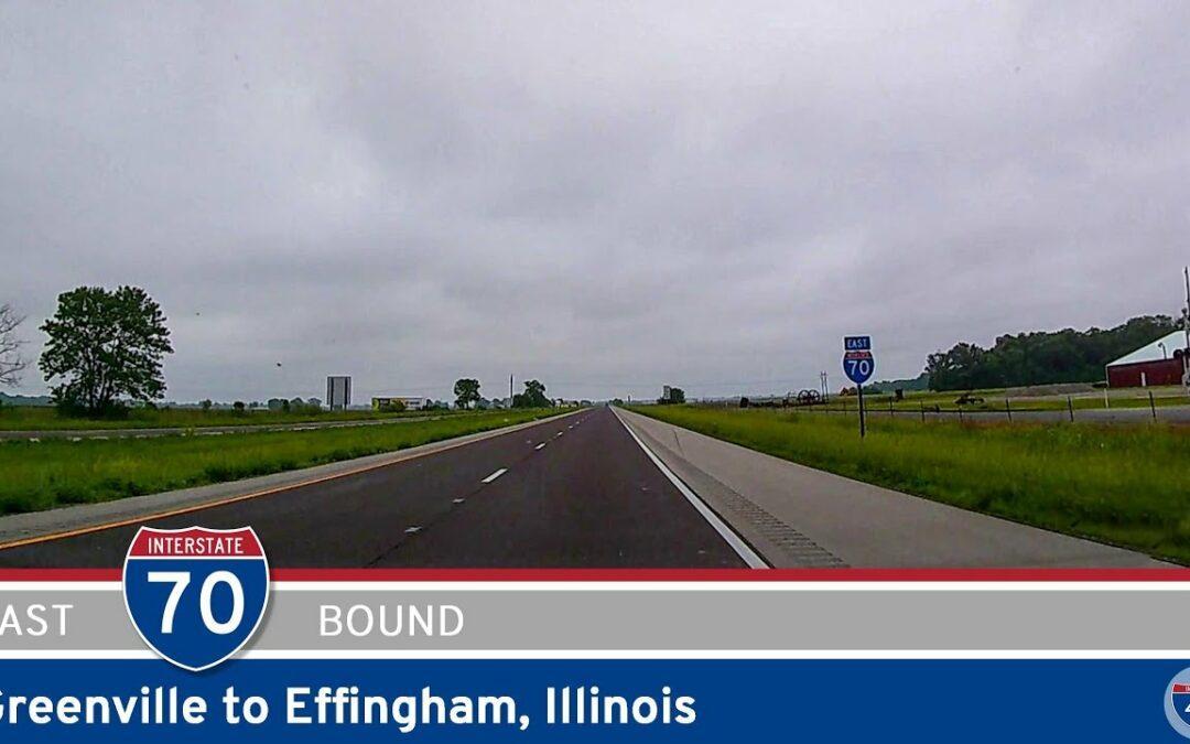 Interstate 70:  Greenville to Effingham – Illinois