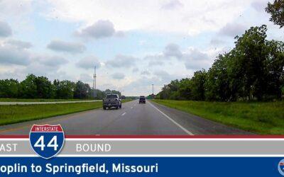 Interstate 44: Joplin to Springfield – Missouri