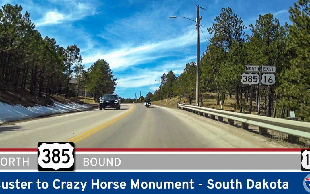U.S. Highway 385: Custer to Crazy Horse – South Dakota
