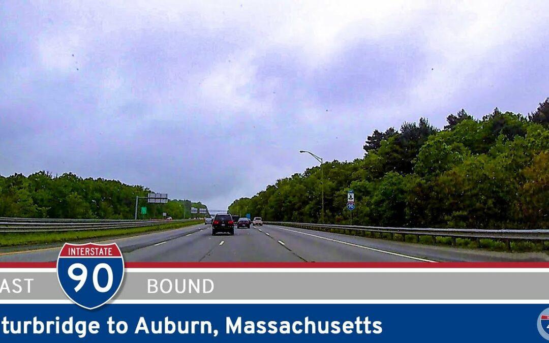 Interstate 90: Sturbridge to Auburn – Massachusetts