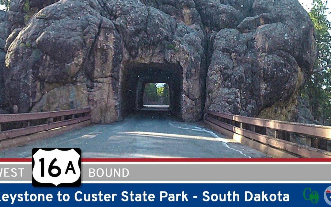 U.S. Highway 16A – Keystone to Custer State Park – South Dakota
