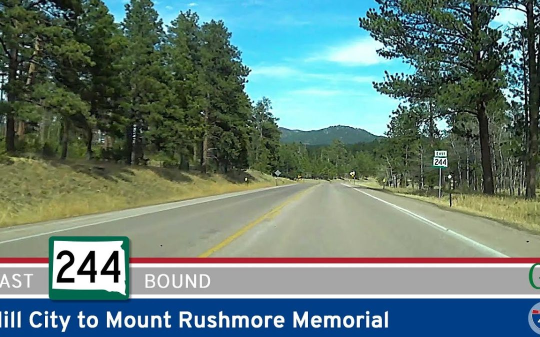 South Dakota Highway 244 – Hill City to Mount Rushmore Memorial
