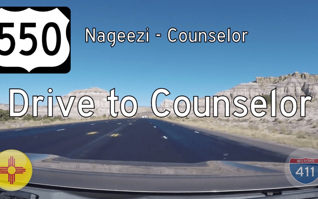 U.S. Highway 550 – Nageezi – Counselor – New Mexico