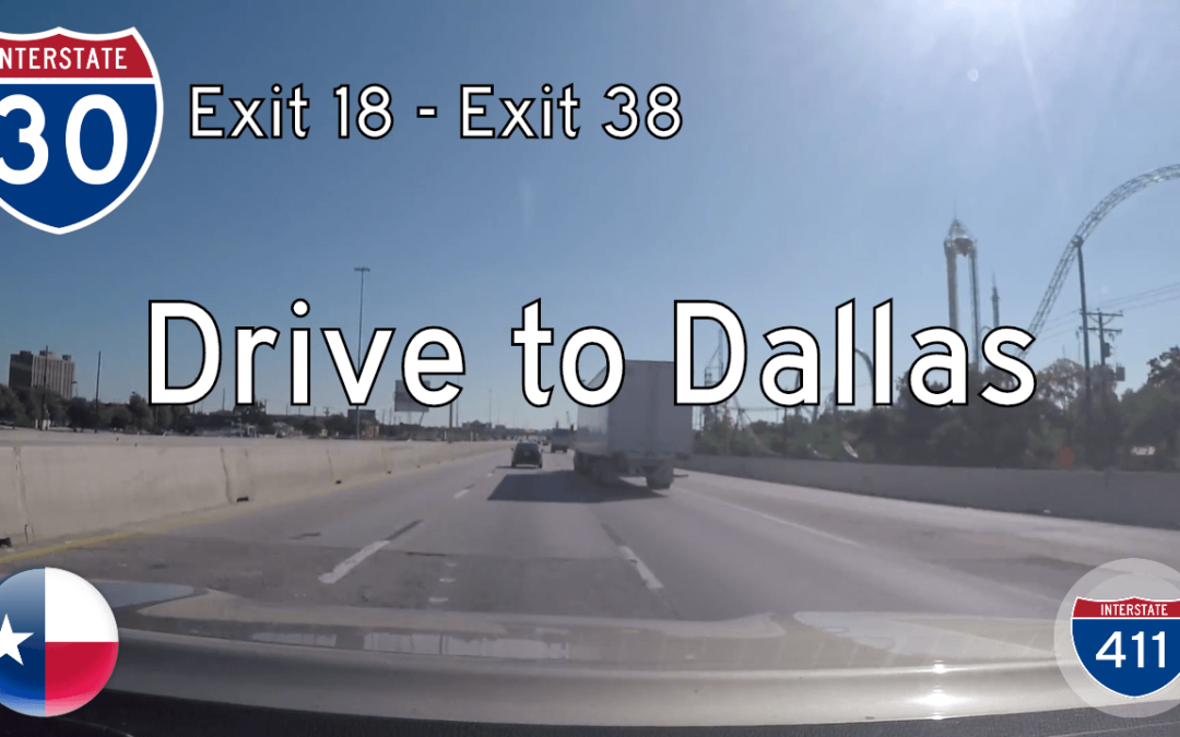 Interstate 30 – Ft Worth to Dallas – Texas