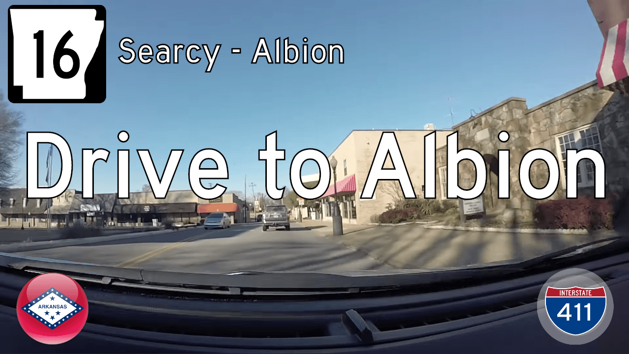 AR-16 - Searcy to AR-310 in Albion