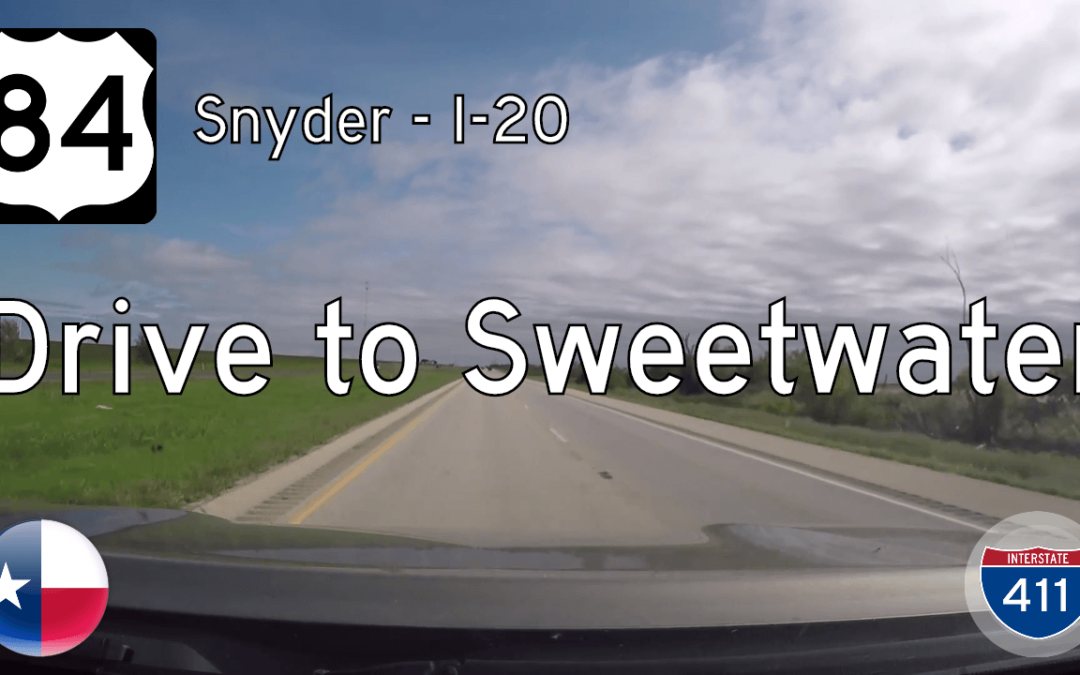 U.S. Highway 84 – Snyder to Sweetwater – Texas