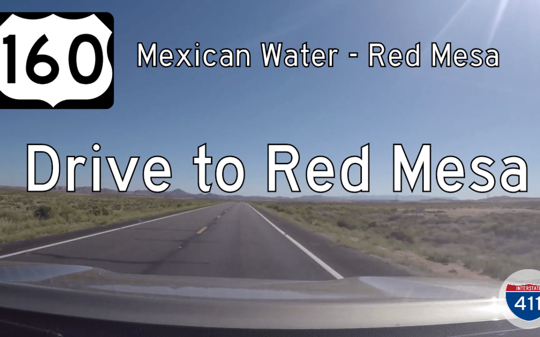 U.S. Highway 160 – Mexican Water to Red Mesa – Arizona
