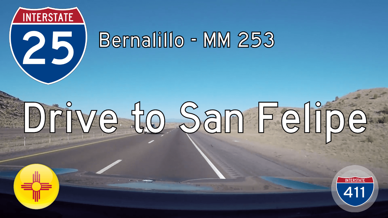 I-25 North - Bernalillo - MM 253