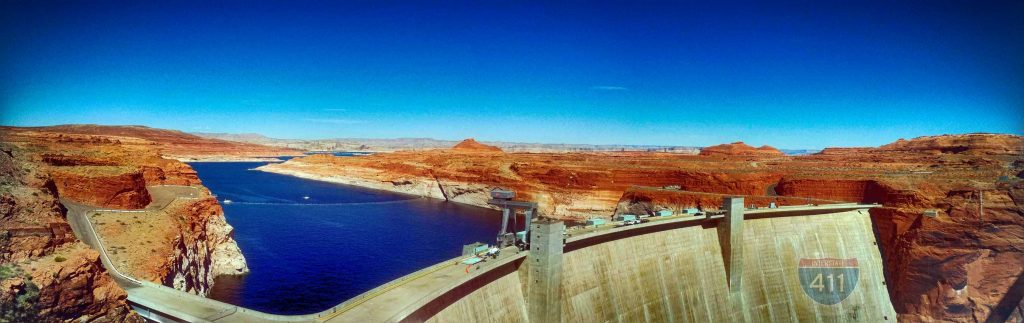 U.S. Highway 89 – Page to the Glen Canyon Dam - Arizona Page to the Glen Canyon Dam