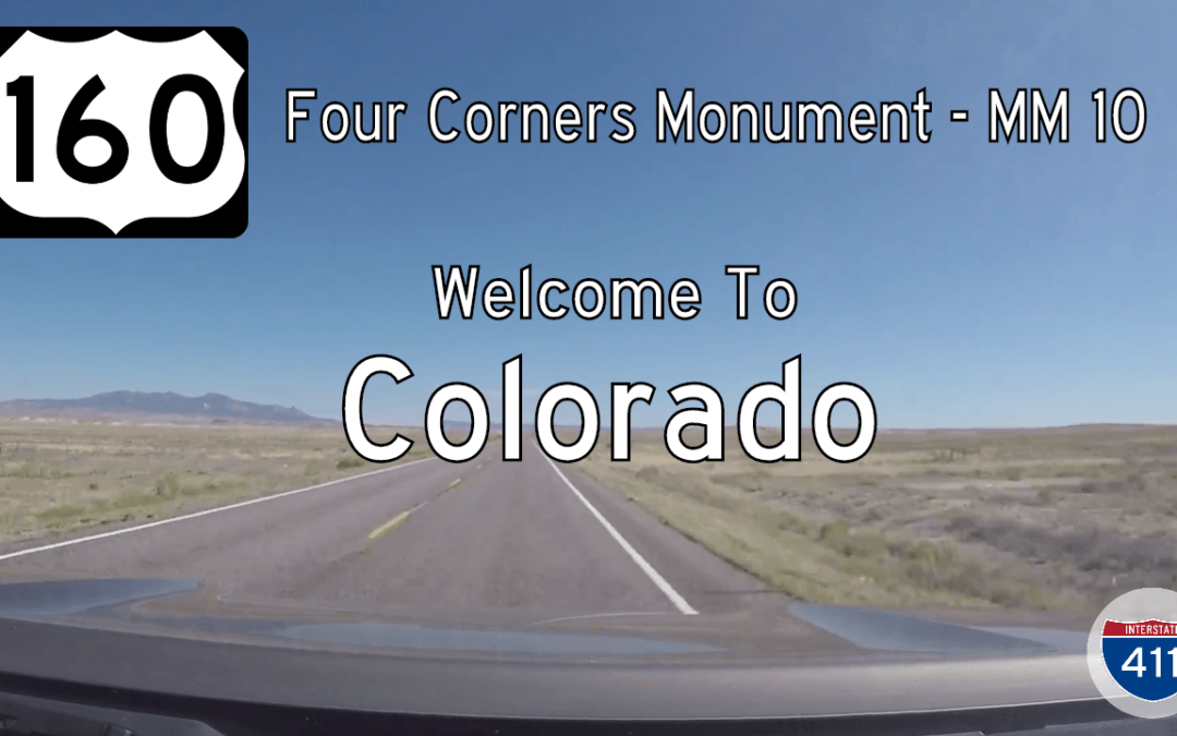 US Highway 160 – Four Corners – Mile 10 – Colorado