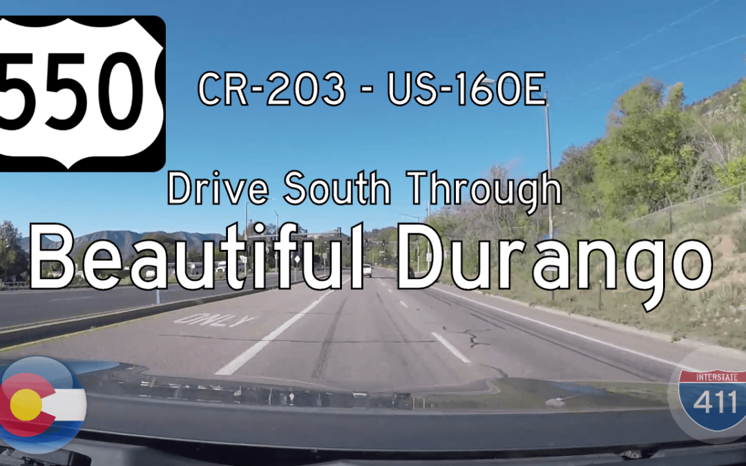 U.S. Highway 550 – Durango – Colorado (south)