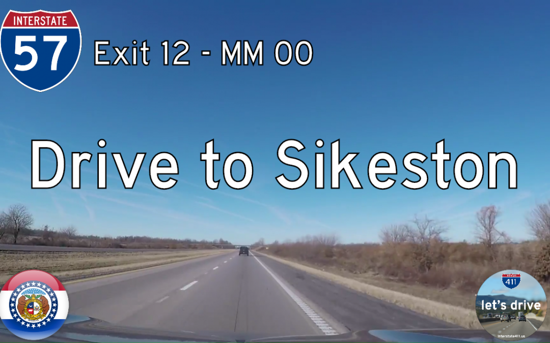 Interstate 57 – Mile 12 – Mile 00 – Missouri