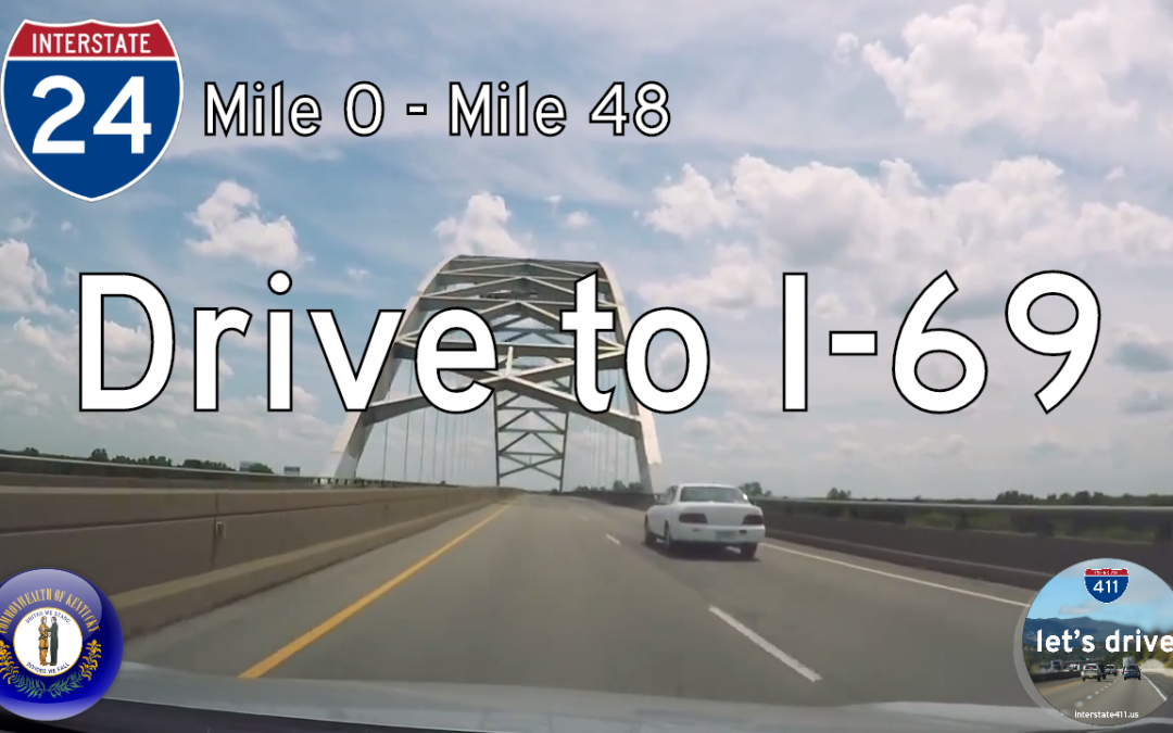 Interstate 24 – Mile 0 to Mile 48 – Kentucky