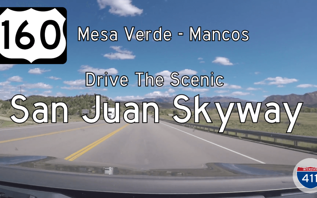 U.S. Highway 160 – Mesa Verde to Mancos – Colorado