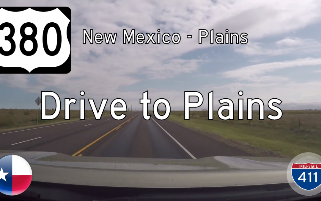 U.S. Highway 380 – New Mexico to Plains – Texas