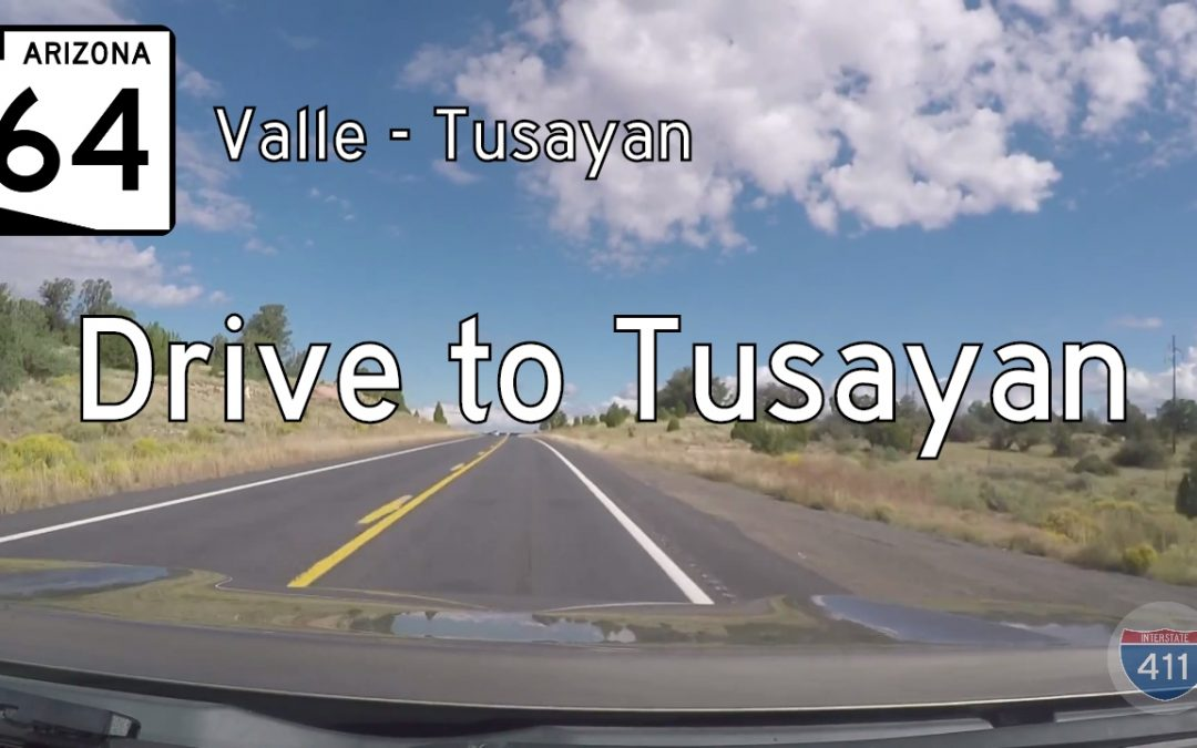 Arizona Highway 64 – Valle to Tusayan