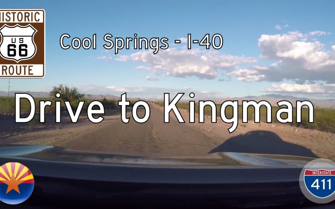 Historic Route 66 – Cool Springs – Interstate 40 – Arizona
