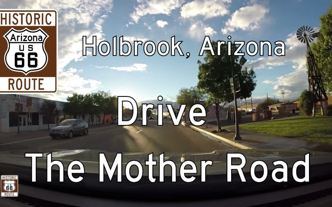 Historic Route 66 West in Holbrook – Arizona