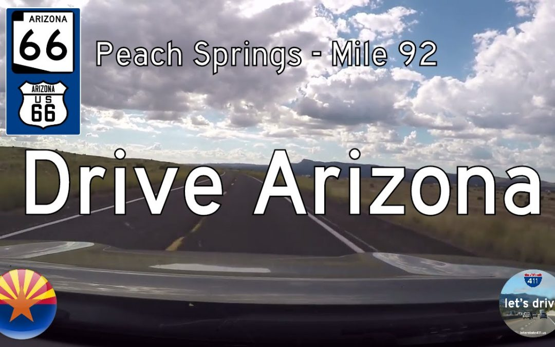 Arizona Highway 66 – Peach Springs – Mile 92
