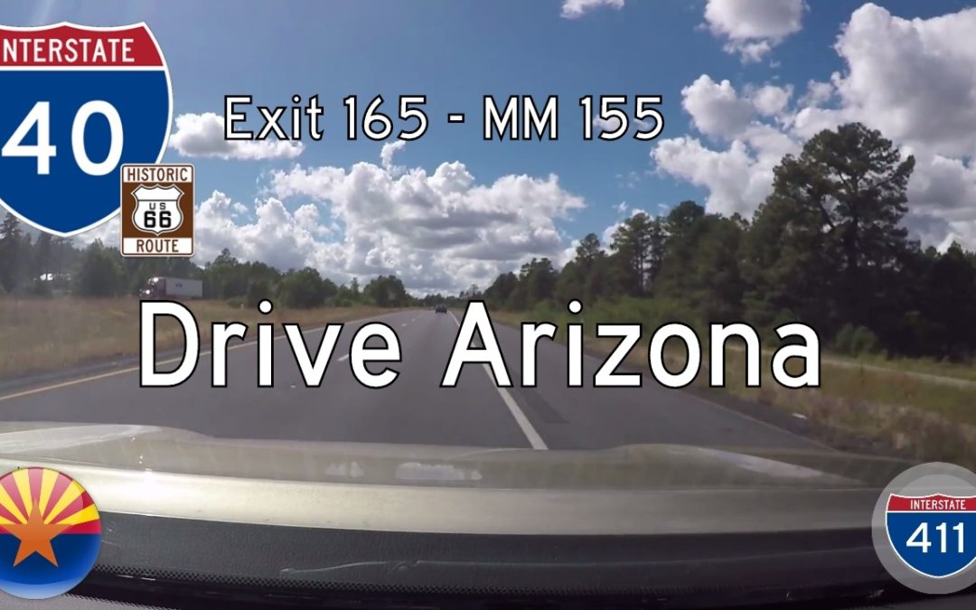 Interstate 40 – Mile 165 – Mile 155 – Arizona