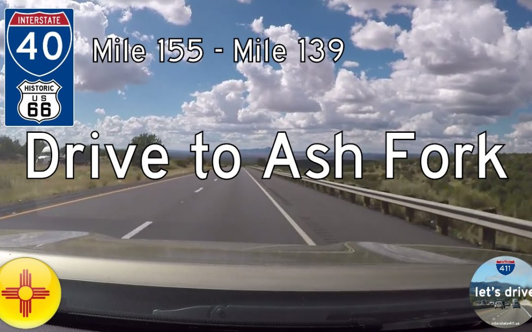 Interstate 40 – Mile 155 – Mile 139 – Arizona