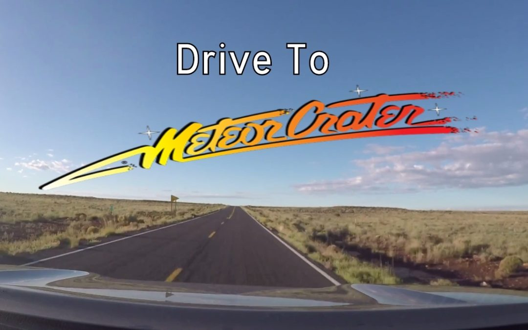 Meteor Crater Road – Arizona