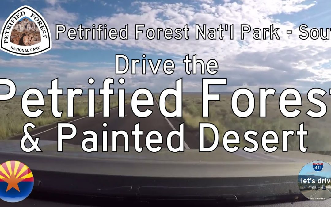 Petrified Forest National Park – Southbound – Arizona