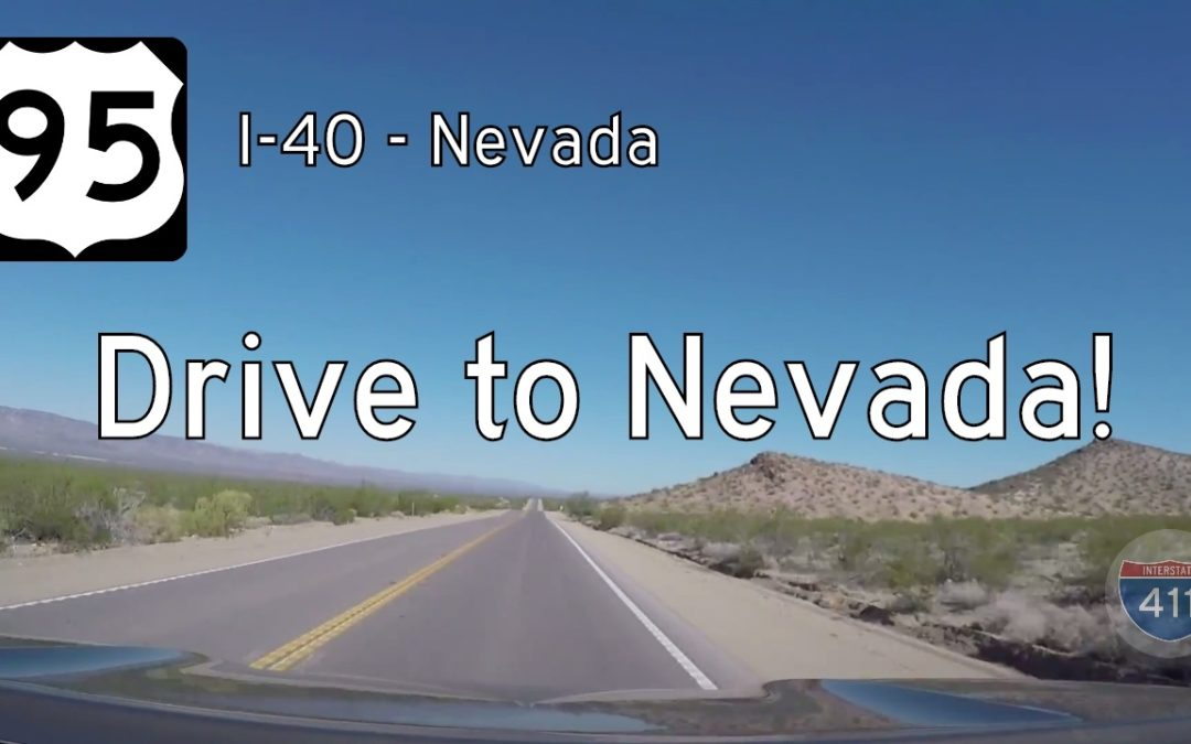 US Highway 95 – Interstate 40 – Nevada State Line – California