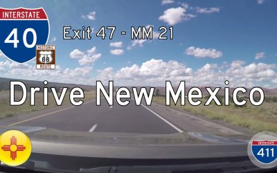 Interstate 40 – Mile 47 – Mile 21 – New Mexico