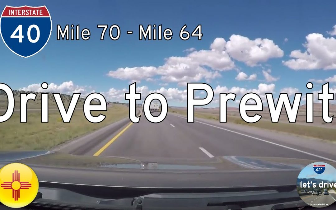 Interstate 40 – Mile 70 – Mile 64 – New Mexico