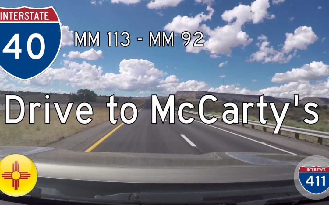 Interstate 40 – Laguna to McCarty's – New Mexico