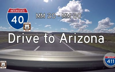 Interstate 40 – Mile 20 – Mile 0 – New Mexico