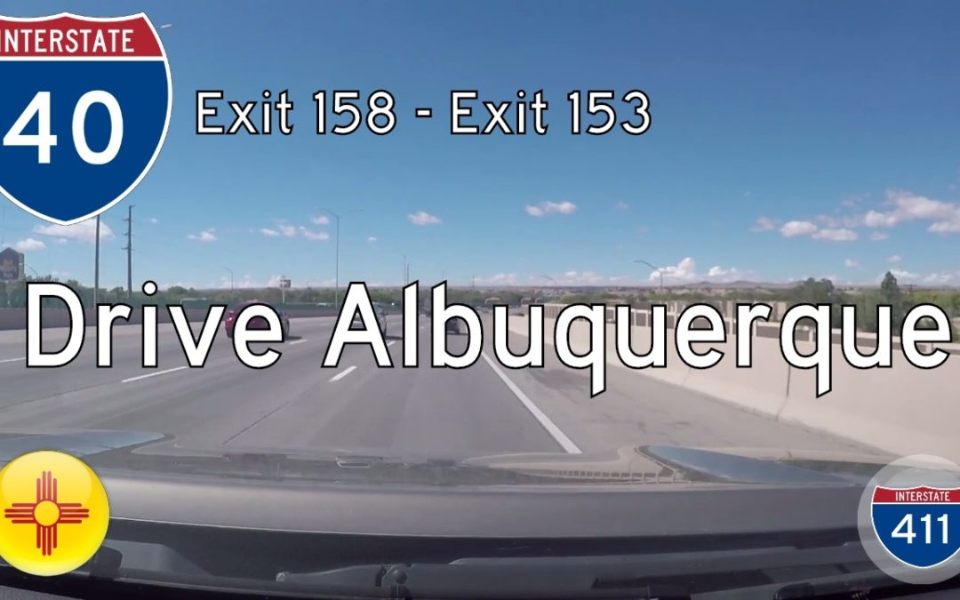 Interstate 40 – Mile 158 – Mile 153 – New Mexico