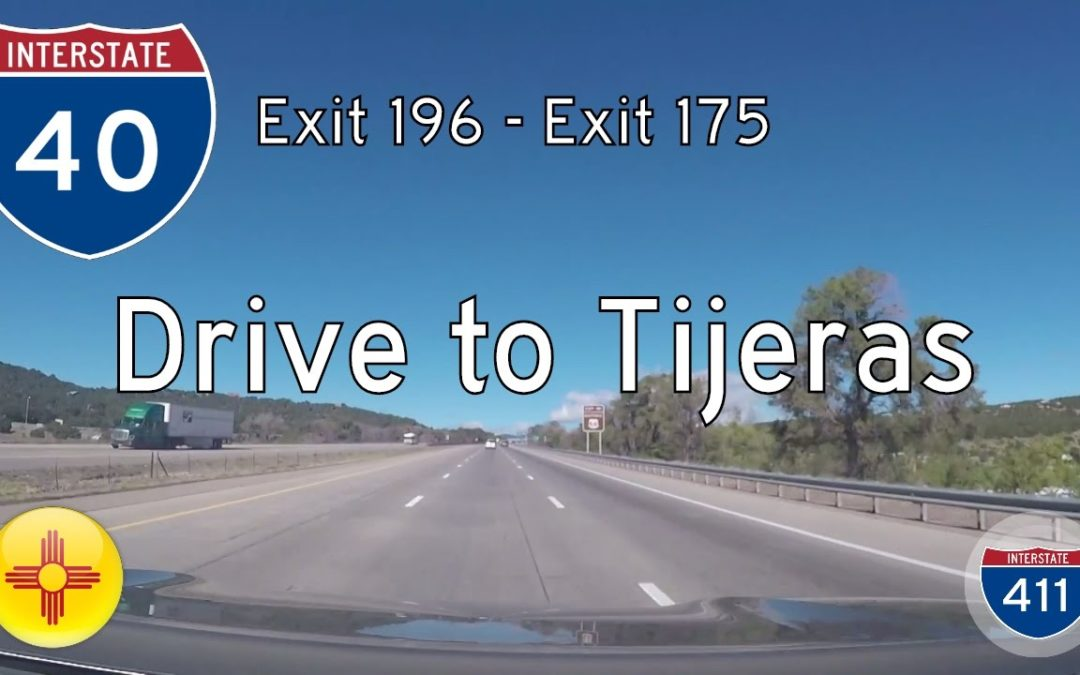 Interstate 40 – Mile 196 – Mile 175 – New Mexico