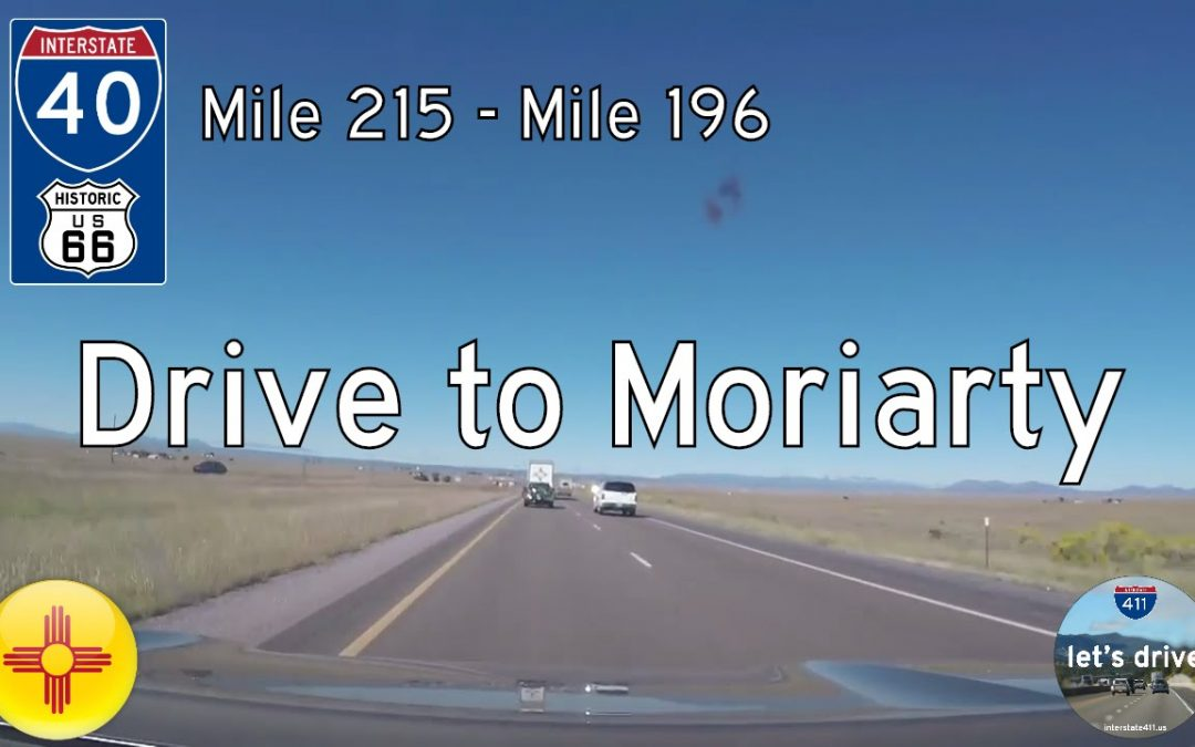 Interstate 40 – Mile 215 – Mile 196 – New Mexico
